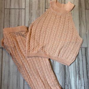 Matching Knitted Set